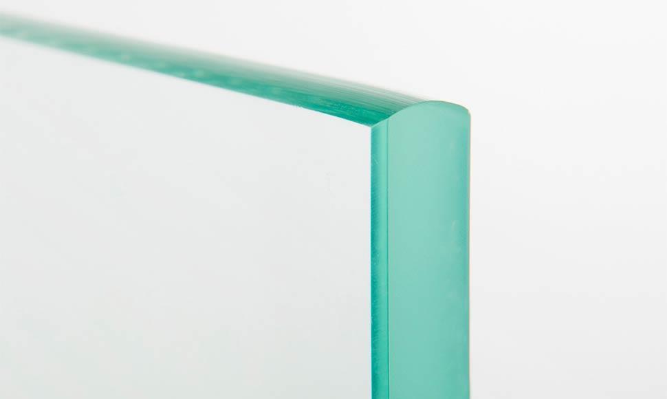 ограждение с закаленным стеклом