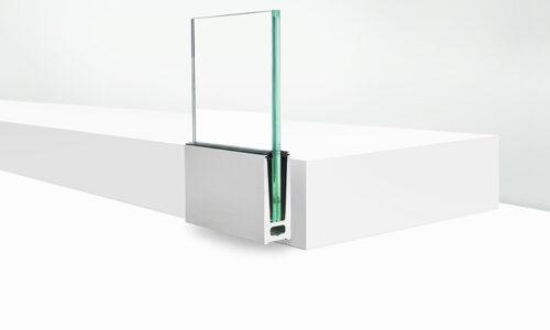 профиль для стекла боковое крепление