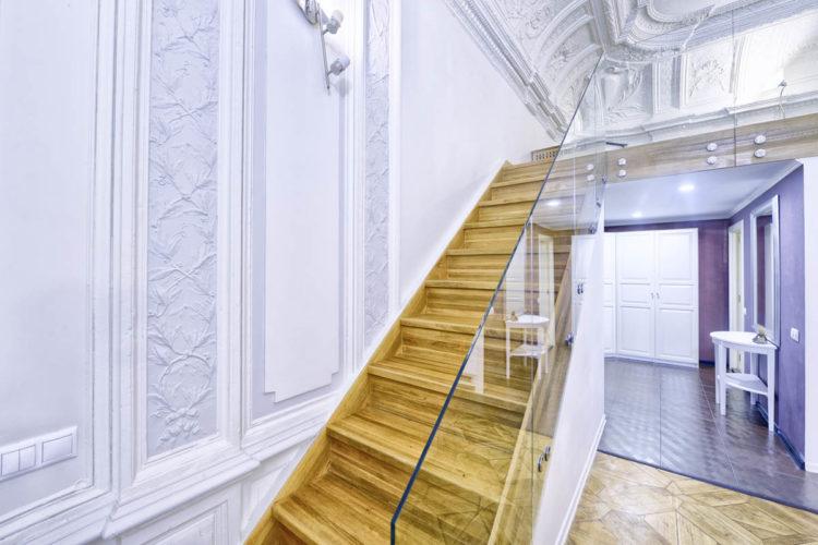 Точечные крепления, стекло Оптивайт 12 мм.   22200 ₽ за метр (просветленное стекло дороже обычного на 30%).